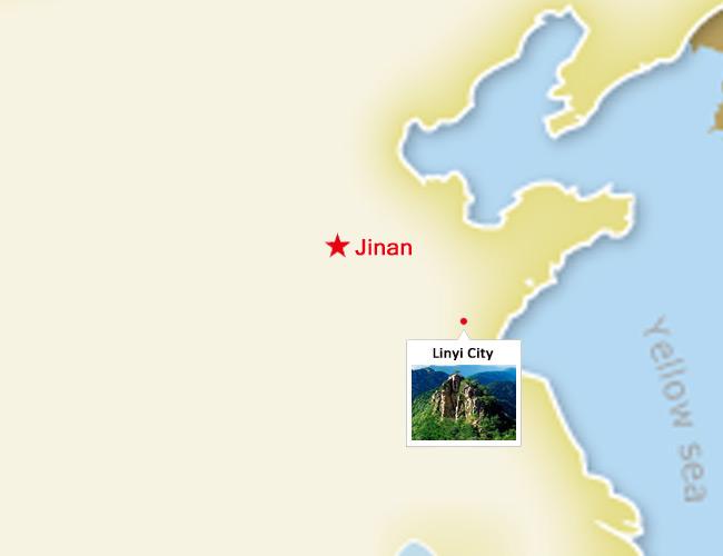 Linyi China Linyi Travel Guide Attractions Linyi Shandong Tours - Linyi map