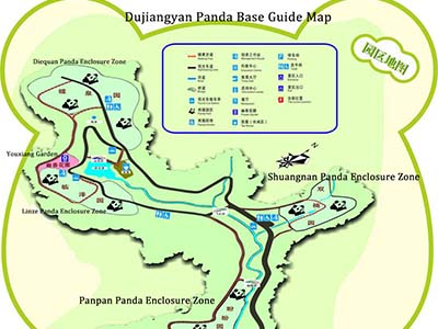 Dujiangyan Panda Base Map