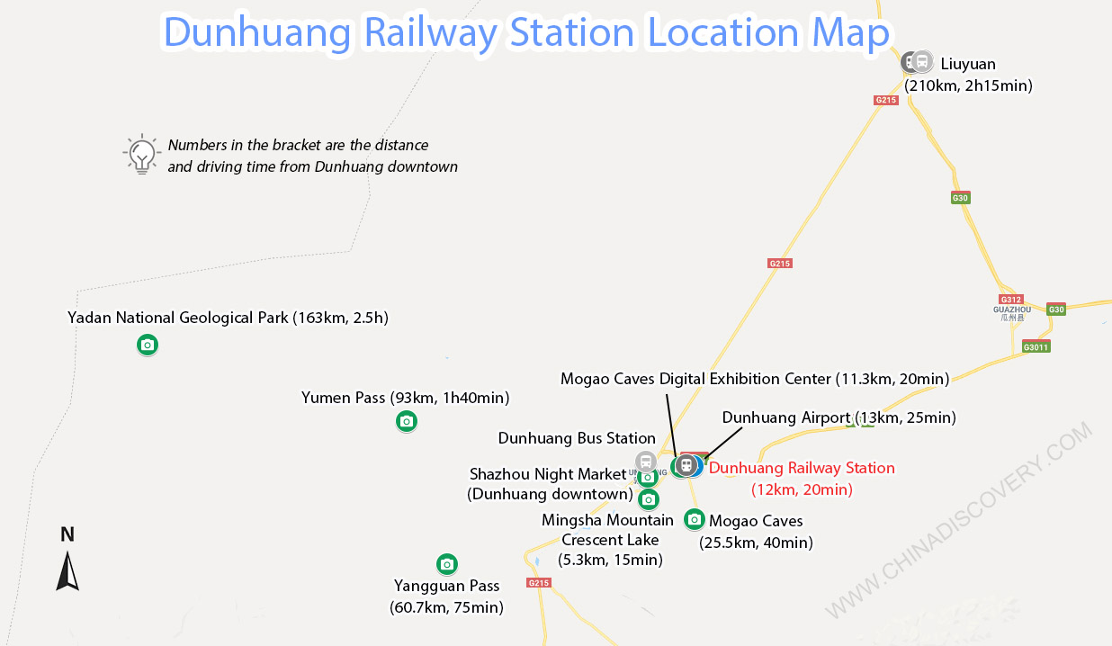 Dunhuang Train Station