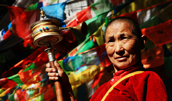 Tibetan People in Tibet