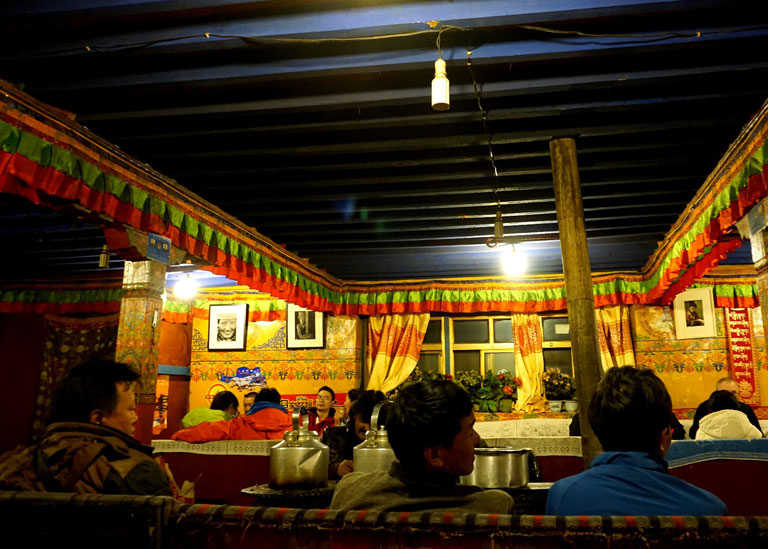 Rongbuk Monastery Dining Room