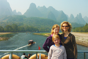 Li River Cruise with Kids