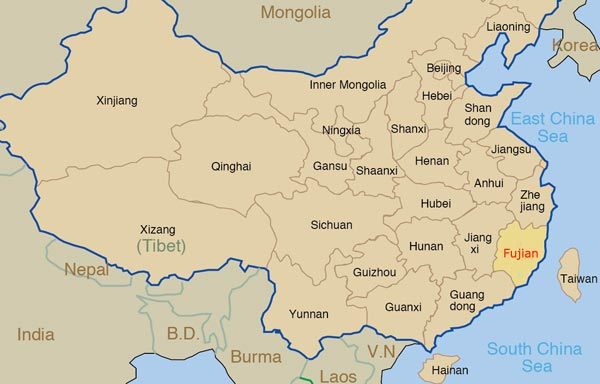 Fujian Travel Guide: Attractions, Cities, Weather & Maps