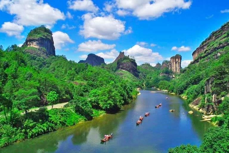 Wuyi Mountain Wuyishan Fujian Highlights Tickets