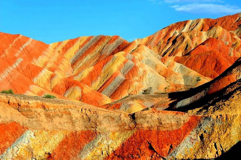 Zhangye Danxia Geopark - the Rainbow Mountains