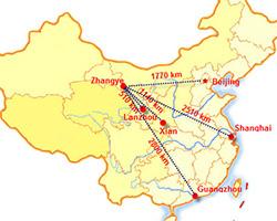 Gansu China Map.Gansu Travel Map Gansu Location Map Gansu Attraction Map