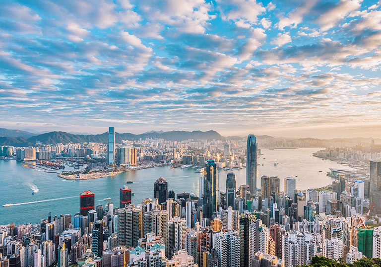 How to Plan a Trip to Greater Bay Area - Panorama from Hong Kong Victoria Peak