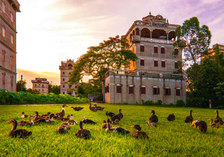 How to Plan a Trip to Greater Bay Area - Kaiping Diaolou