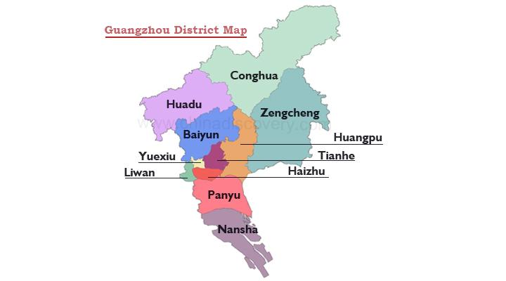 Guangzhou Maps | China | Maps of Guangzhou