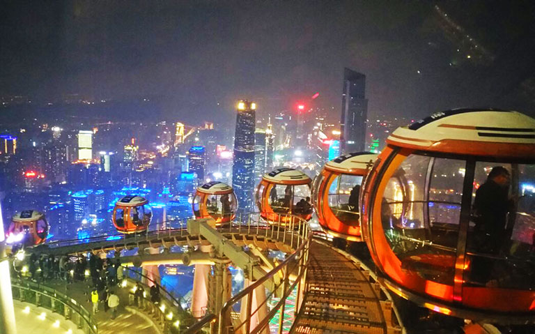 Canton Tower Sky Wheel Experience