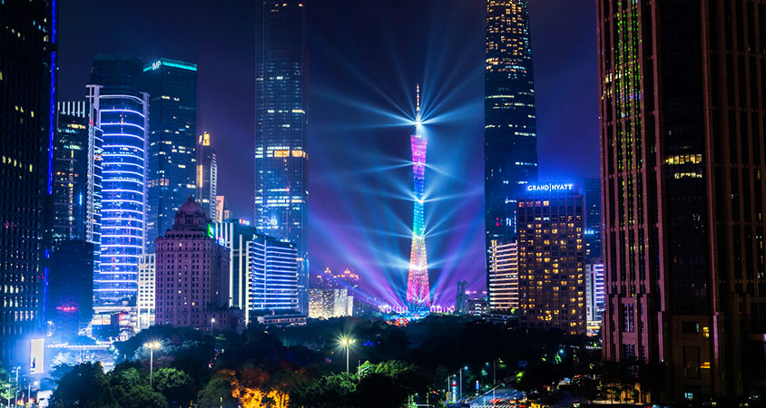 Canton Tower Night View