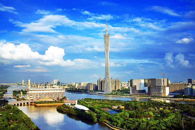 View Canton Tower in Daytime