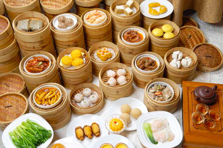 Various Kinds of Cantonese Dim Sum