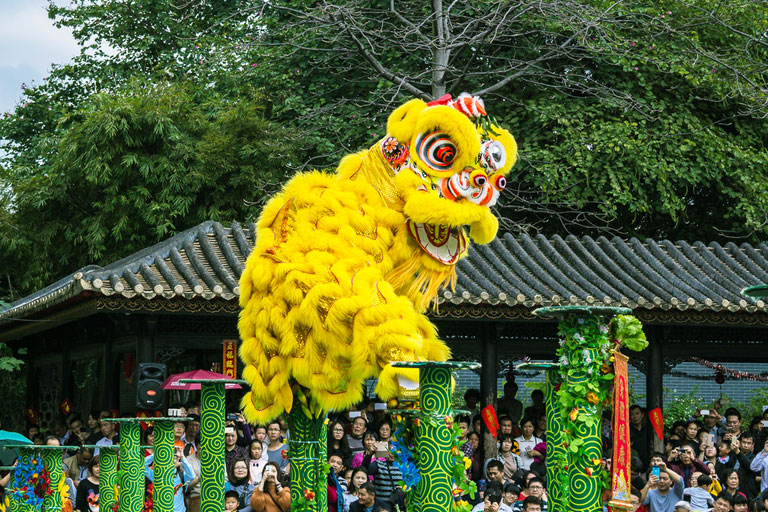 Foshan Ancestral Temple Lion Dance