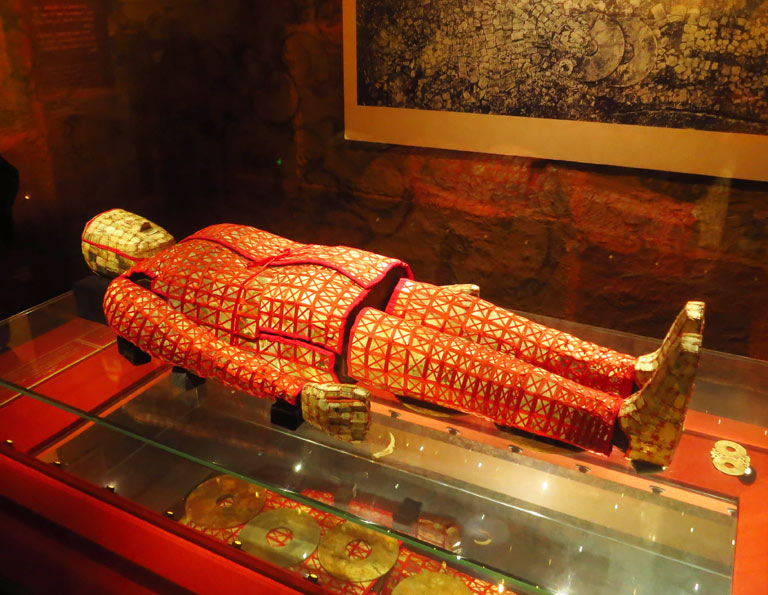 Jade Burial Garment at Museum of the Mausoleum of Nanyue King