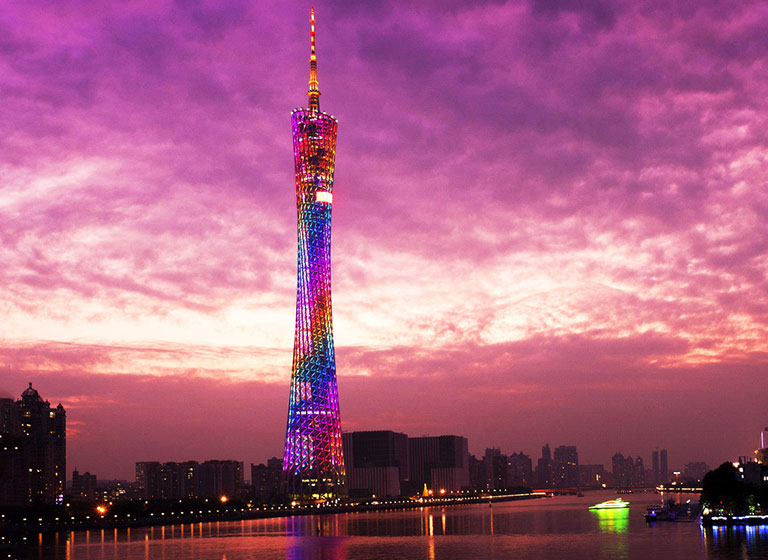 Canton Tower in Guangzhou