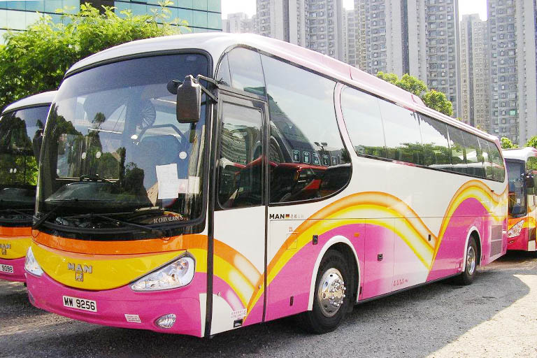 Hong Kong to Guangzhou Bus/Coach