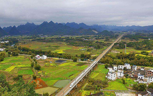 Guilin High Speed Bullet Train