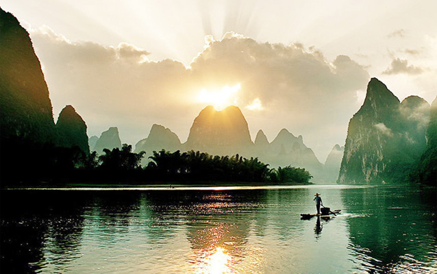Picturesque Li River