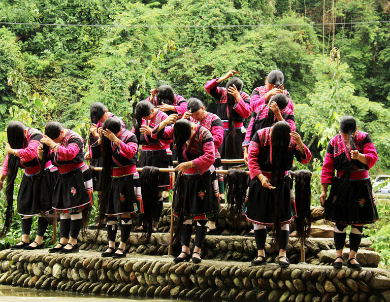 Huangluo Yao Village - the First Village of Long Hair in the World