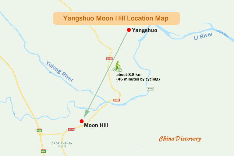Moon Hill Location Map