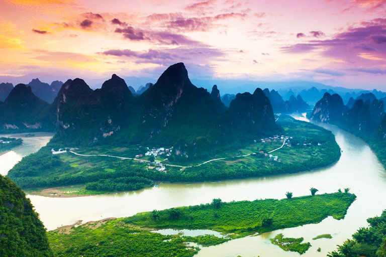 Guilin Photography - Xianggong Mountain