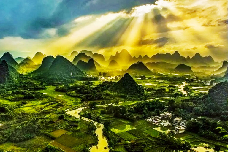 Guilin Photography -  Yangshuo Cuiping Mountain