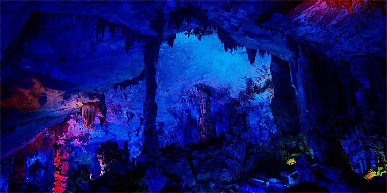Image result for Reed Flute Caves, China
