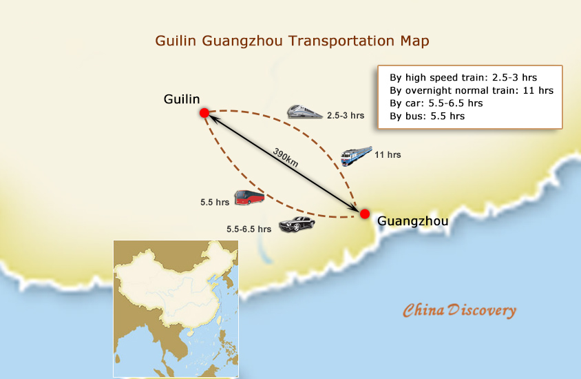 From Guangzhou to Guilin