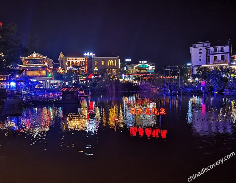 Visit Yangshuo West Street at Night