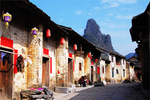 Old Alley in Yangshuo