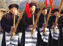 6 Days Autumn Lusheng Festival Tour in Guizhou