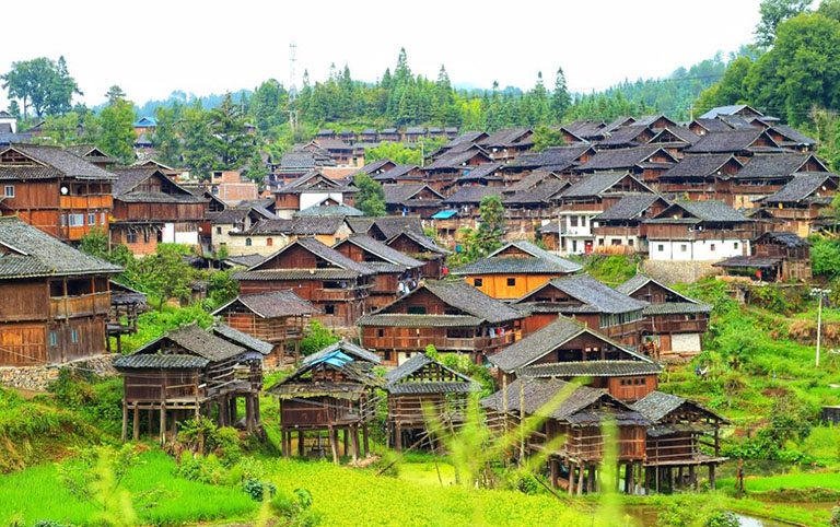 Zhanli Dong Village - A Primitive and Mysterious Village