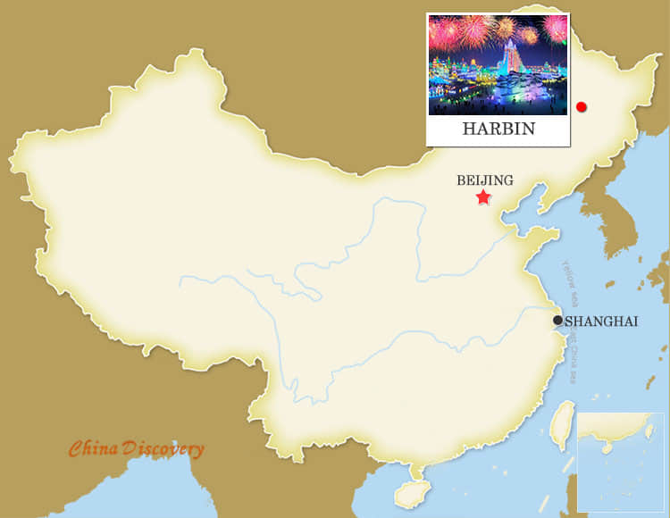 Harbin travel guide attractions weather maps travel tips harbin map chinese name gumiabroncs Images