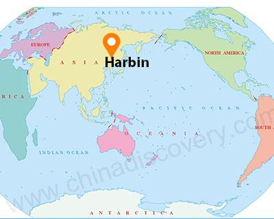 Harbin Map, Harbin Map English, Maps of Harbin China