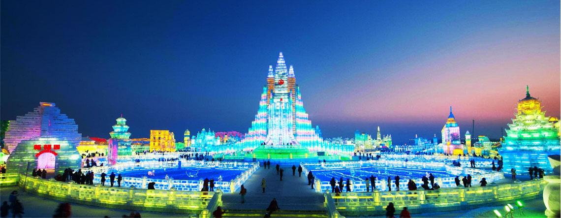 Harbin Ice Festival Tour