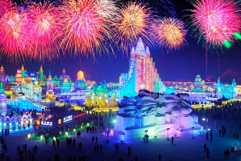 Harbin Ice and Snow Festival Opening Ceremony