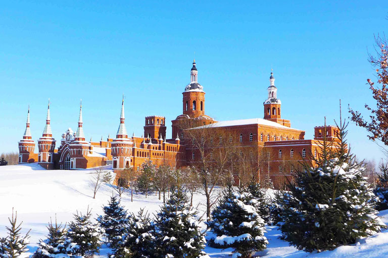 Volga Manor Winter Scenery