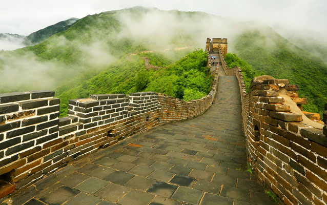 Misty Mutianyu Great Wall