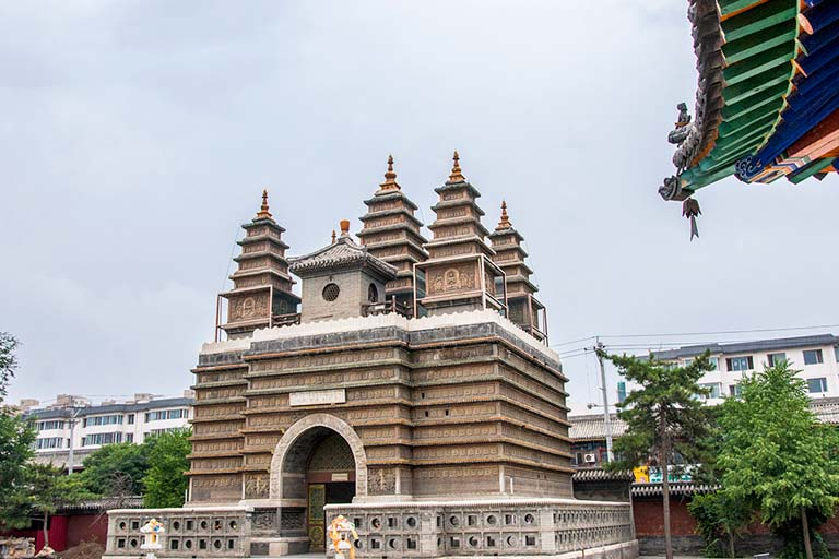 Hohhot Attractions & Things to Do - Five-Pagoda Temple