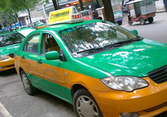 Taxi in Hohhot