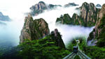 Enjoy breathtaking mountain views of Huangshan as well as nearby beautiful ancient villages!