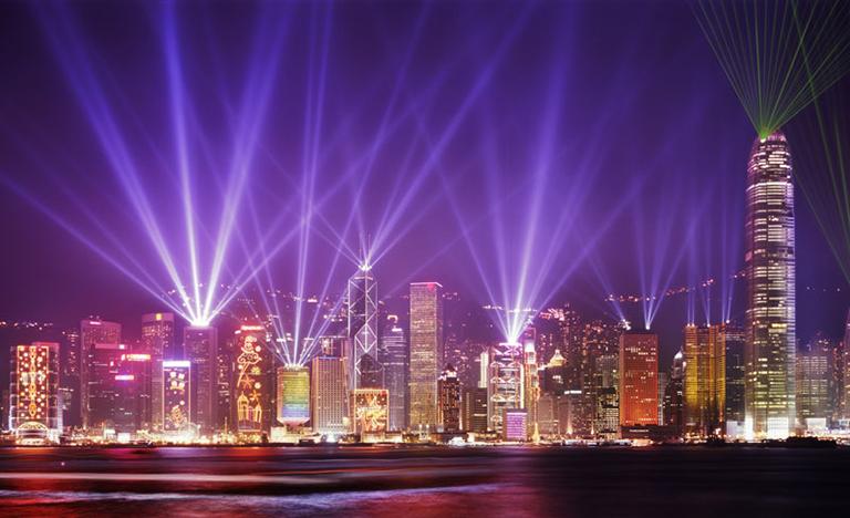 Hong Kong Skyline A Symphony of Lights & Hong Kong Skyline Symphony of Lights azcodes.com