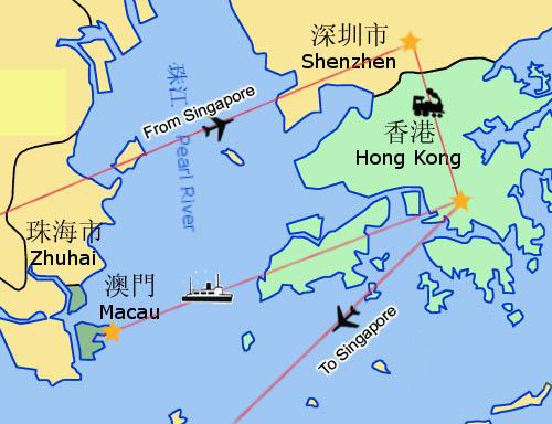 China Travel Guide, includes Hong Kong, Macau