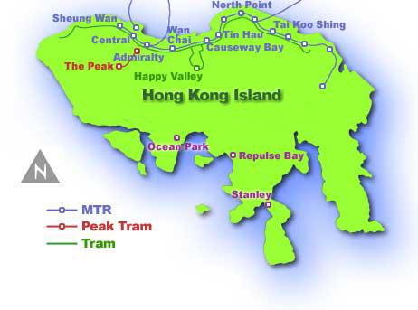 Hong kong map hong kong tourist map hong kong macau map hong kong island map gumiabroncs Image collections