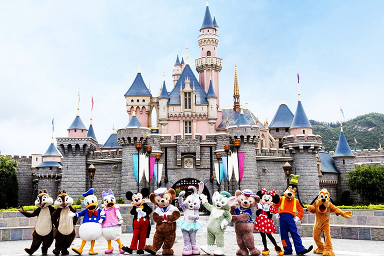 Happy Hong Kong Disneyland