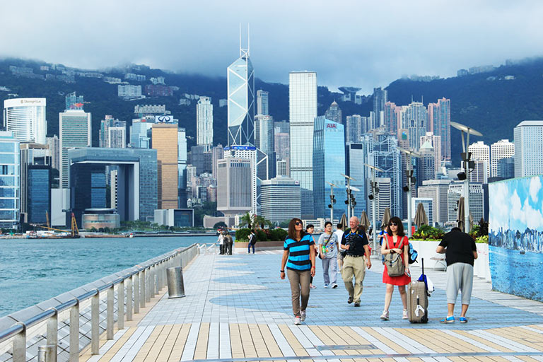 Visit Hong Kong Island by Walking