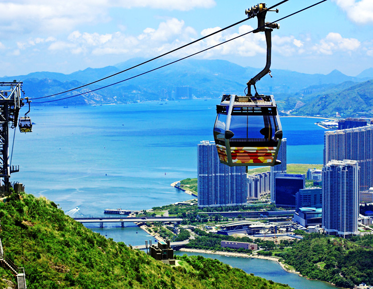 Ngong Ping 360 Cable Car with Stunning Views