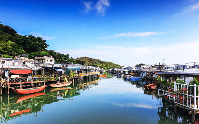 Tai O Fishing Village with Stilt Houses