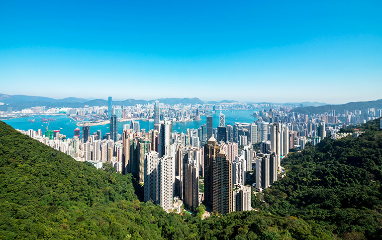 Victoria Peak Panoramic View